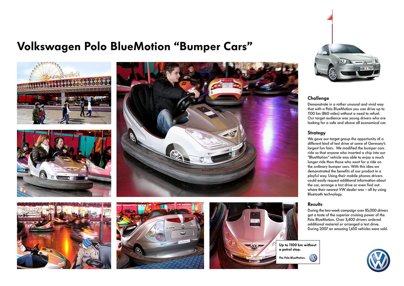 2-Volkswagen-Polo-BlueMotion-Bumper-Cars-Board